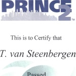 2005:  Prince2 Foundation en Practioner