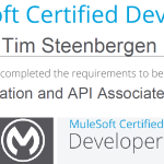 2015: Mulesoft certified developer